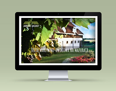 Website for agritourism farm