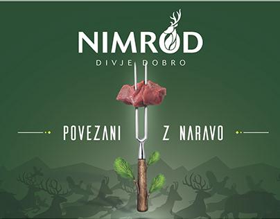 NIMROD   logo and concept design