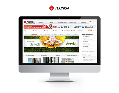 Tecnisa: primeiro portal de vendas pela internet