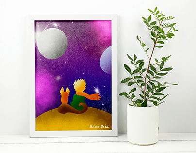 Digital Art - Le Petit Prince