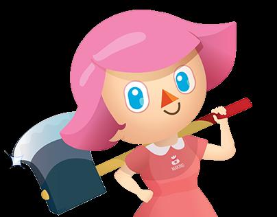 Animal Crossing Tribute - Villager Girl