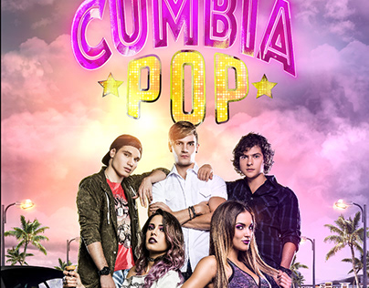 AFICHE DE LOS KINGS CUMBIA POP AMÉRICA TV