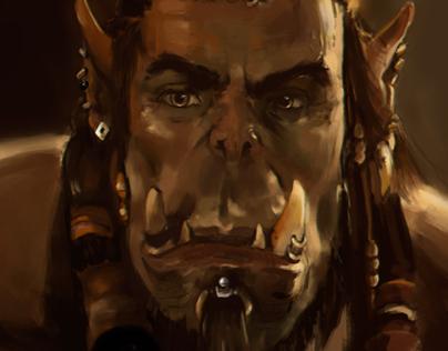 Warcraft movie orc