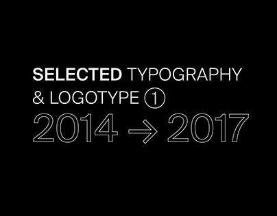 SELECTED TYPOGRAPHY & LOGOTYPE ①