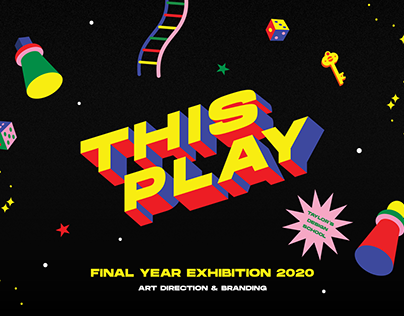 THISPLAY: Final Year Exhibition | Branding
