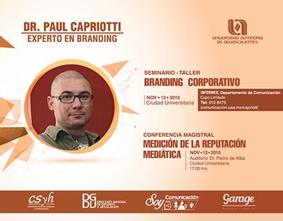 Paul Capriotti / Branding Corporativo