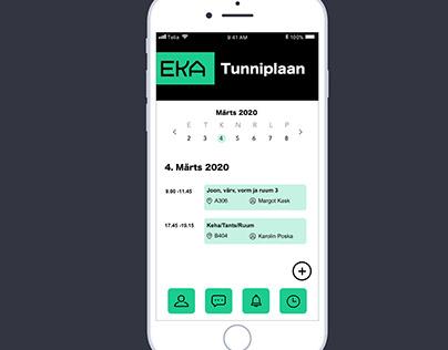 EKA // App concept