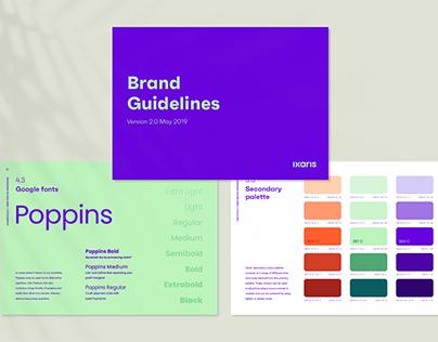 Ixaris Brand Guidelines