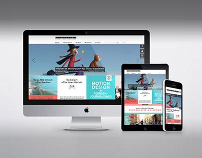 Filmakademie Wettbewerb | Webdesign