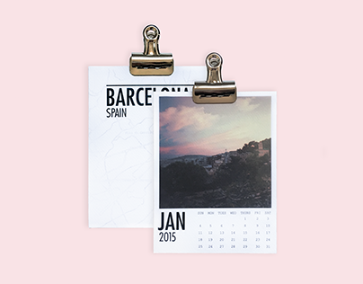 Polaroid Calendar