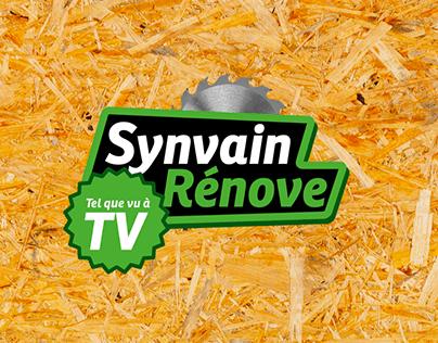 Co-auteur série télé - Synvain rénove tel que vu à TV