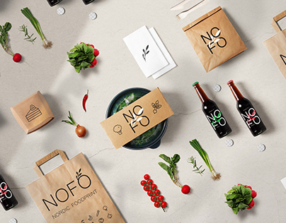 Nordic Foodprint branding