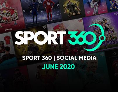 SPORT 360 | Social Media - June 2020