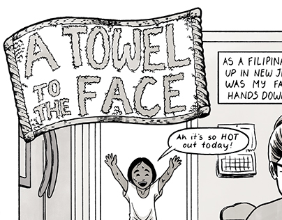 A Towel To The Face