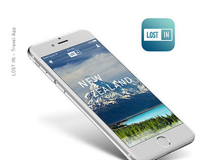 LOST IN - Travel App