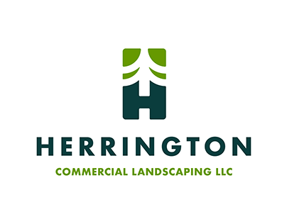 Herrington Commercial Landscaping Logo Design