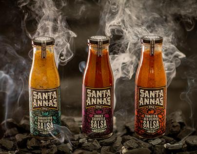 Santa Anna's   Packaging