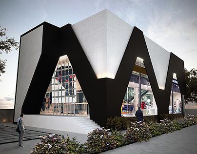 Commercial Plaza Design