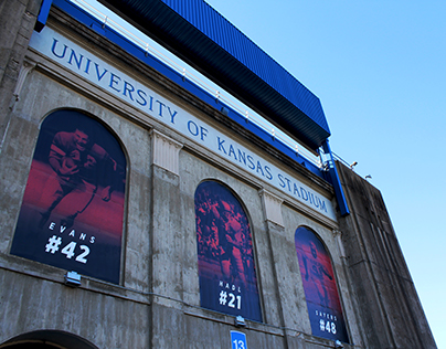 Memorial Stadium Exterior Graphics