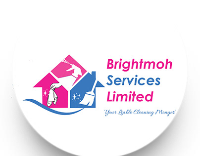 Cleaning Services Company Logo