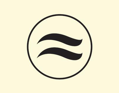 Brand logo for music business