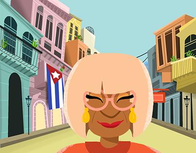 Celia Cruz - Animación