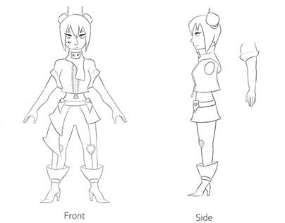 Character Design - Noba