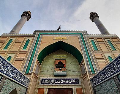 Shrine of Lal Shahbaz Qalandar r.a.