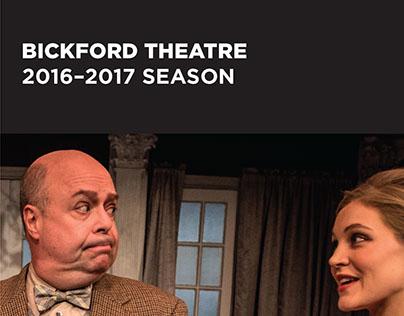 Bickford Theatre Season Guide - 2016/2017 Season