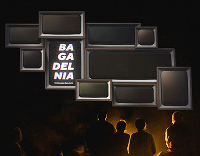 """video projections for theater play """"Bagadelnia"""""""