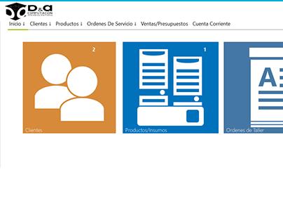 DYA Computacion - Sistema de gestión