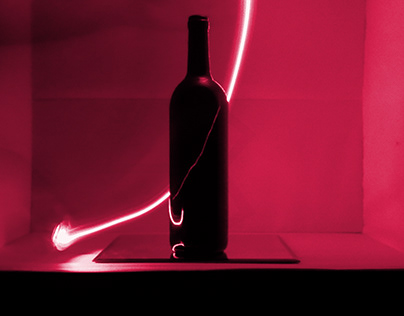 Red line Wine Bottle 1-2