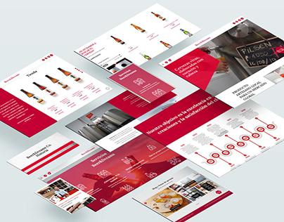 Beer&Dreams - Web Design