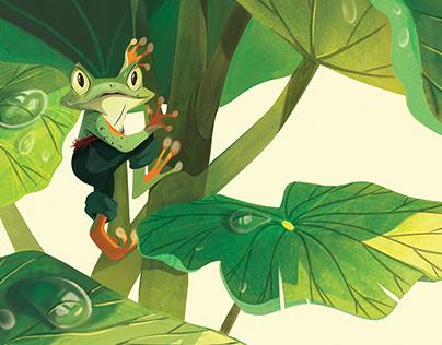 Hero Frog Kuri (Pegasus)