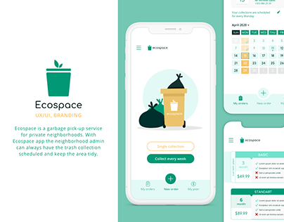Ecospace (garbage collection app)