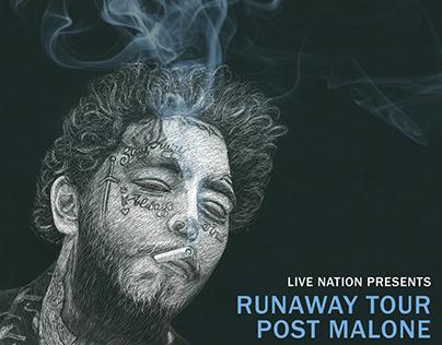 The Runaway Tour   Poster Design