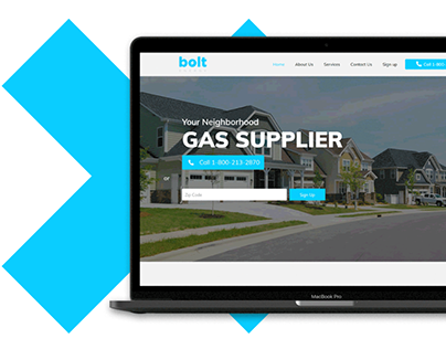 boltenergyservices Website design