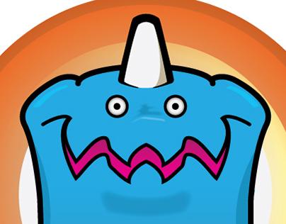Kaiju Kids Mascot Character Design
