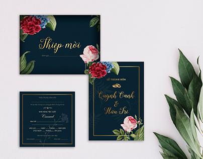 Wedding Invitation - Fancy