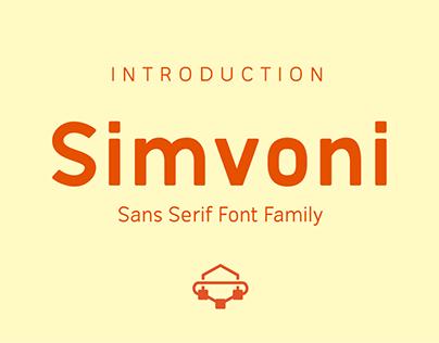 Simvoni - Free Sans Serif Font Family