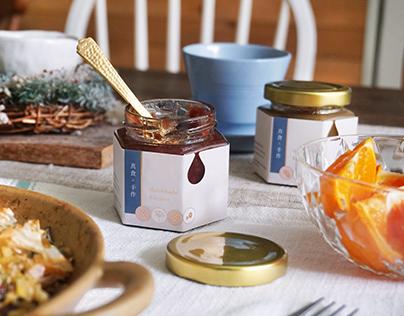 香草果醬&茶包禮盒包裝-真食。手作