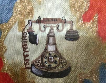 Antique brass texture development