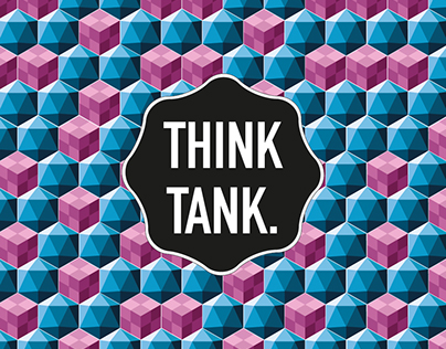graphic patterns proposals for THINK TANK brand.