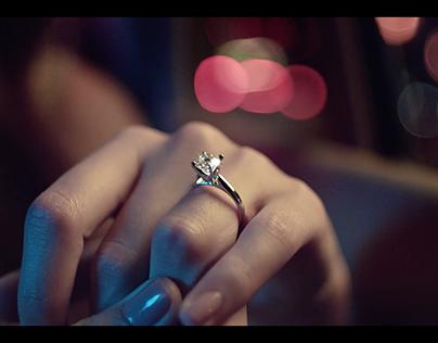 Macy's Star Signature Diamond Engagement Ring