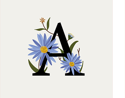 36 Days of Type—Flower Power