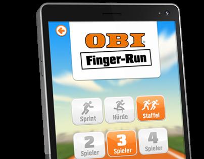 OBI Finger Run App