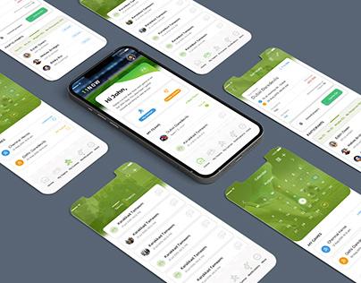 Football Event App UIUX