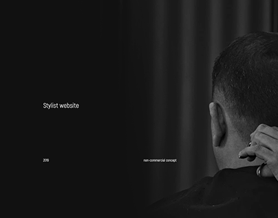 Stylist website concept
