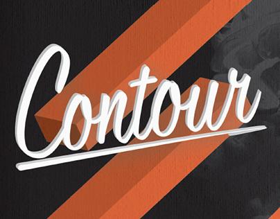 Contour Poster / January 2016