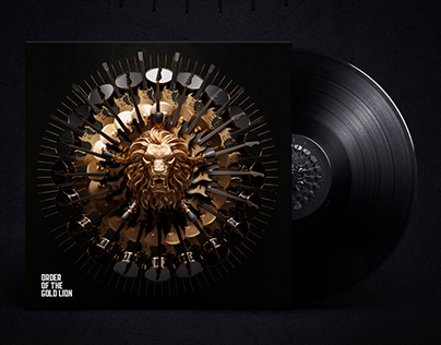 ORDER OF THE GOLD LION - Album design